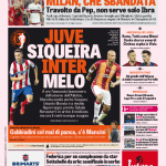 Gazzetta dello Sport – Juve-Siqueira, Inter-Melo