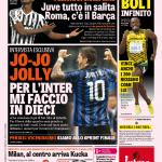 Gazzetta dello Sport – Jo-Jo jolly 'Per l'Inter mi faccio in dieci'
