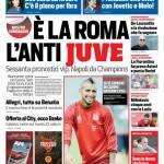 Corriere dello Sport – E' la Roma l'anti Juve