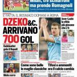 Corriere dello Sport – Dzeko & C. arrivano 700 gol