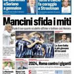 Corriere dello Sport – Mancini sfida i miti