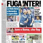 Corriere dello Sport – Fuga Inter!