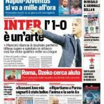 Corriere dello Sport – Inter, l'1-0 è un'arte