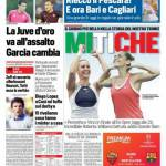 Corriere dello Sport – La Juve d'oro va all'assalto, Garcia cambia
