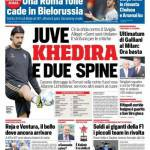Corriere dello Sport – Juve, Khedira e due spine