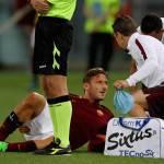 Roma, emergenza infermeria con il Sassuolo: out Dzeko e Totti, Maicon in forse