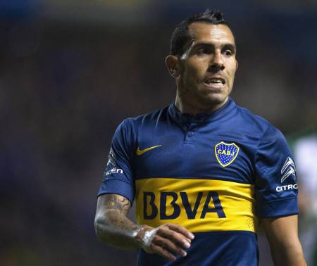 Tevez ©Getty Images