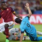 Roma, out Wojciech Szczesny: lussazione all'anulare sinistro per il portiere