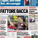 Rassegna Stampa: Corriere dello Sport – Fattore Bacca