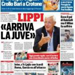 Corriere dello Sport – Lippi 'Arriva la Juve'