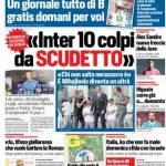 Corriere dello Sport – 'Inter, 10 colpi da Scudetto'