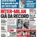 Corriere dello Sport – Inter-Milan già da record