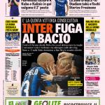Gazzetta dello Sport – Inter fuga al bacio