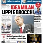 Corriere dello Sport – Idea Milan, Lippi e Brocchi
