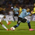 Juventus, clamoroso in Uruguay-Colombia: Cuadrado infortuna Caceres