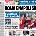 Corriere dello Sport – Roma e Napoli sì