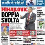 Corriere dello Sport – Mihajlovic doppia svolta