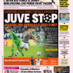 Gazzetta dello Sport – Juve stop. Allegri, ma Dybala lo vedi o no?