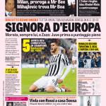 Gazzetta dello Sport – Signora d'Europa