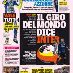 Gazzetta dello Sport – Il giro del Mondo dice Inter