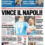 Corriere dello Sport – Vince il Napoli!