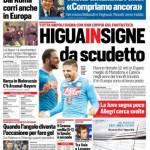 Corriere dello Sport – HiguaInsigne da Scudetto
