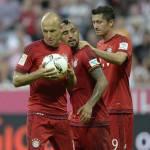 Bayern Monaco, clamorosa lite tra Robben e Lewandowski