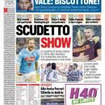 Corriere dello Sport – Scudetto show