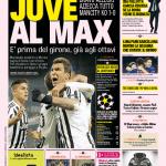 Gazzetta dello Sport – Juve al Max