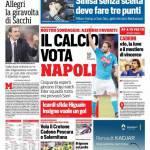 Corriere dello Sport – Il calcio vota Napoli