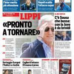 Corriere dello Sport – Lippi 'Pronto a tornare'