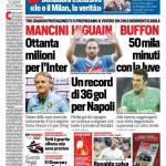 Corriere dello Sport – Mancini, ottanta milioni per l'Inter
