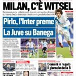 Corriere dello Sport – Milan, c'è Witsel