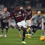 Alessandria-Milan 0-1, andata ai rossoneri: decide Balotelli