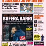 Gazzetta dello Sport – Bufera Sarri