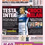 Gazzetta dello Sport – Testa Inter, croce Milan