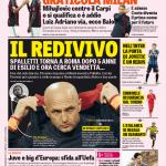 Gazzetta dello Sport – Il redivivo