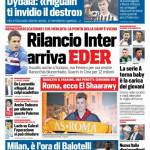 Corriere dello Sport – Rilancio Inter, arriva Eder