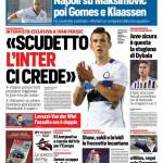 Corriere dello Sport – 'Scudetto, l'Inter ci crede'