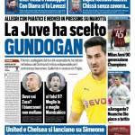 Tuttosport – La Juve ha scelto Gundogan