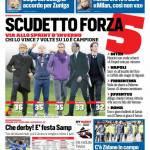 Corriere dello Sport – Scudetto forza 5