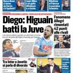 Corriere dello Sport – Diego 'Higuain batti la Juve'