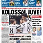 Corriere dello Sport – Kolossal Juve