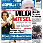 Corriere dello Sport – Milan, Witsel