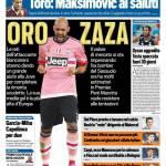 Tuttosport – Oro Zaza