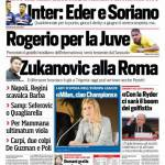 Corriere dello Sport – Inter, Eder e Soriano