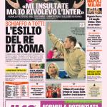 Gazzetta dello Sport – L'esilio del Re di Roma