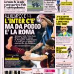 Rassegna Stampa: La Gazzetta dello Sport – L'Inter c'è ma da podio è la Roma