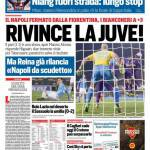 Corriere dello Sport – Rivince la Juve