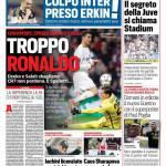 Corriere dello Sport – Troppo Ronaldo